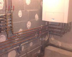 HERVOUET PLOMBERIE - Rezé - Remplacement Installation d'une Chaudière Condensation et Plombier à Rezé