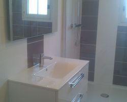 Rénovation création d'une salle de bain à la chevrolière