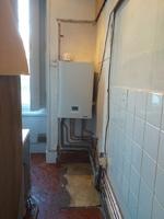 implantation des circuits chauffage et sanitaire terminer