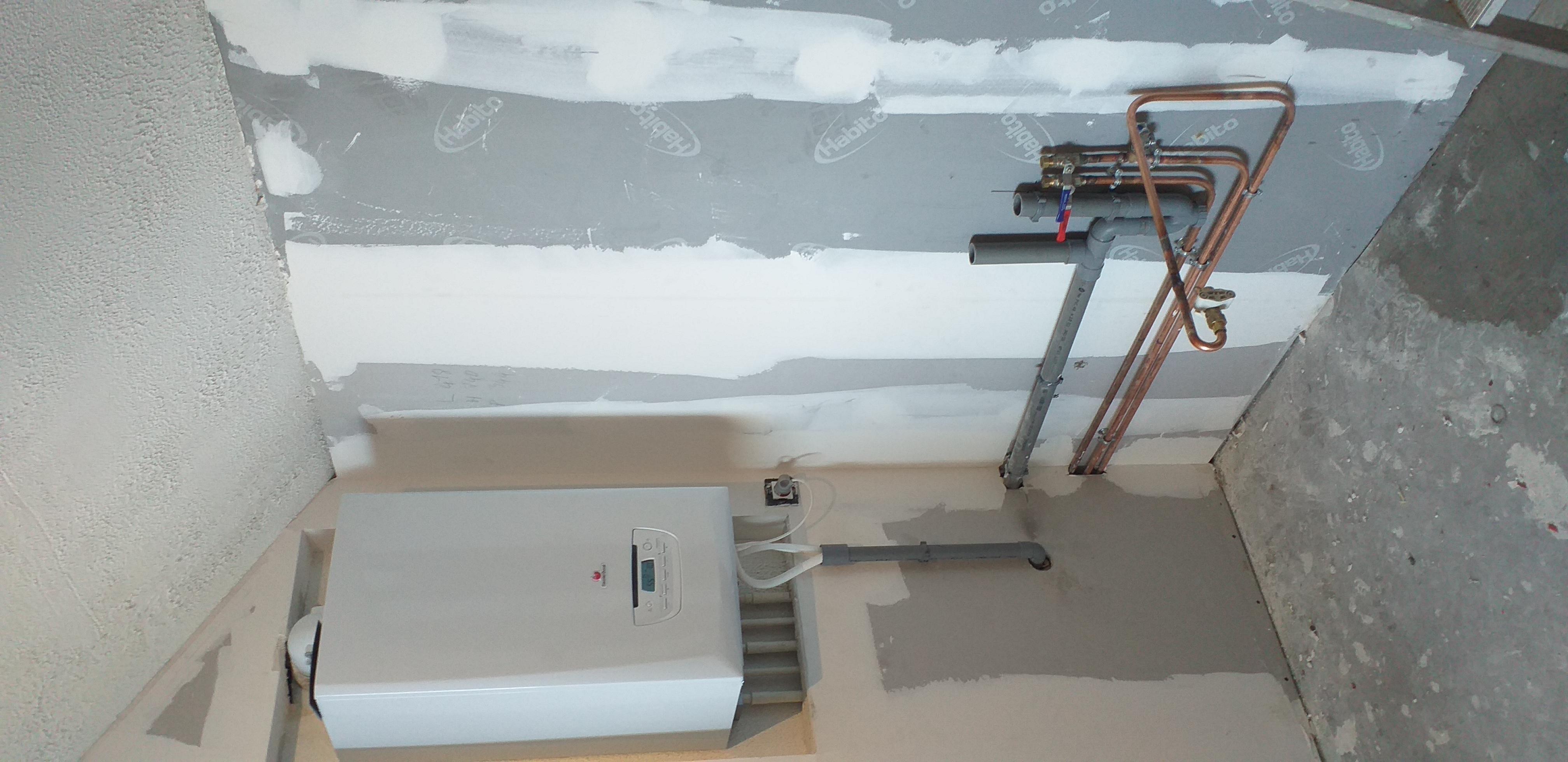 saint mars de coutais: remplacement d'une chaudière non condensation par une chaudière gaz condensation